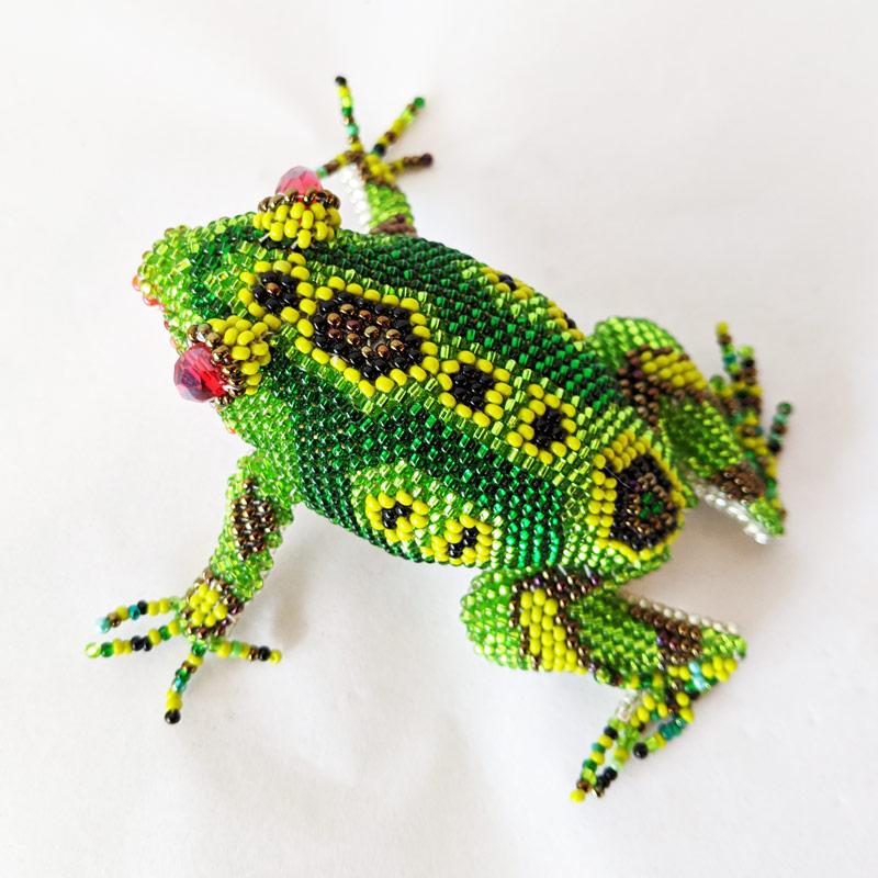 Beaded Frog