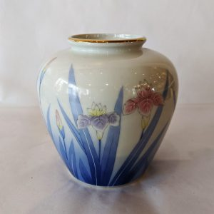 Chinese Iris Vase