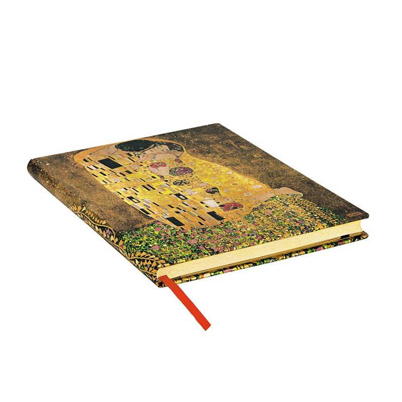 Klimt The Kiss Notebook - Edge