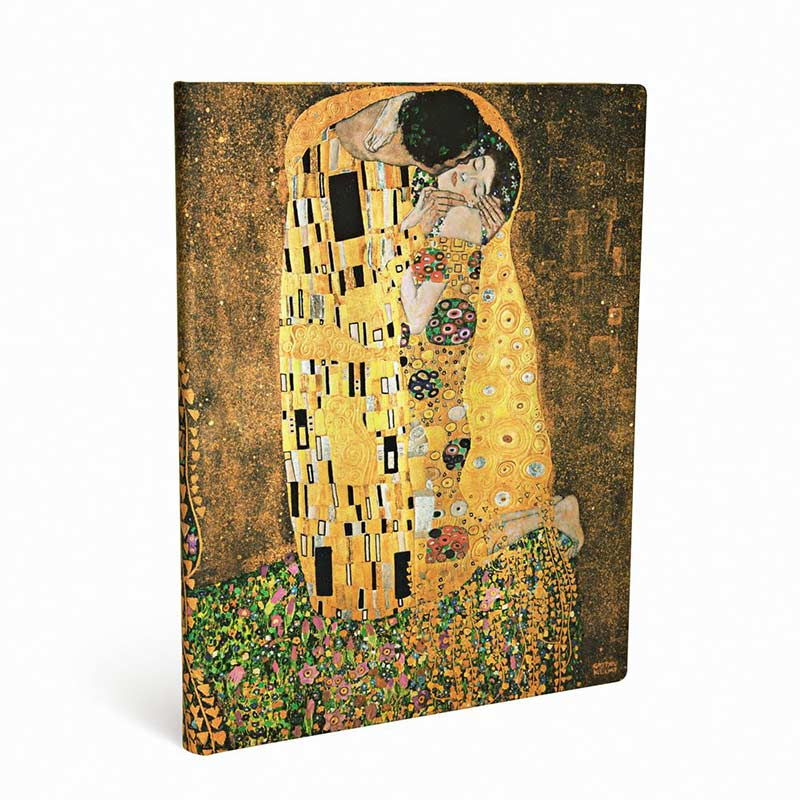 Klimt The Kiss Notebook - Front Angle