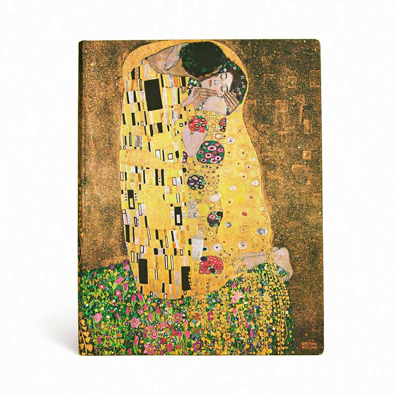 Klimt The Kiss Notebook - Front