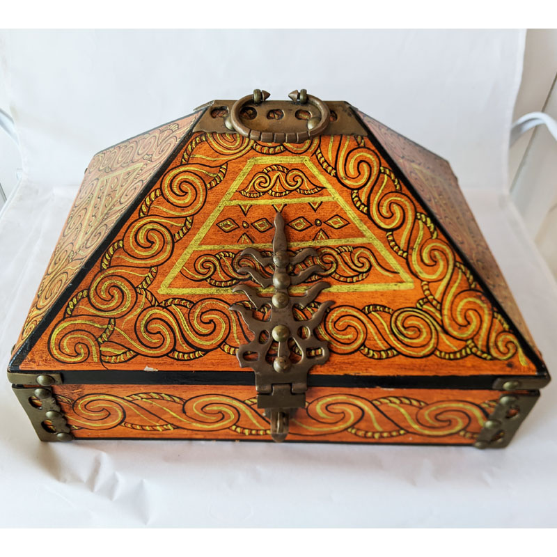Painted Box - India