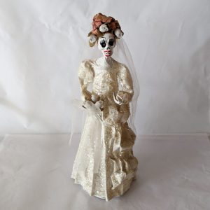 Papier-mâché Skeleton Bride
