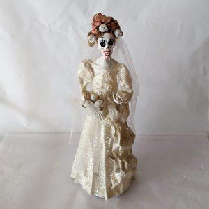 Papier-mâché Skeleton Bride