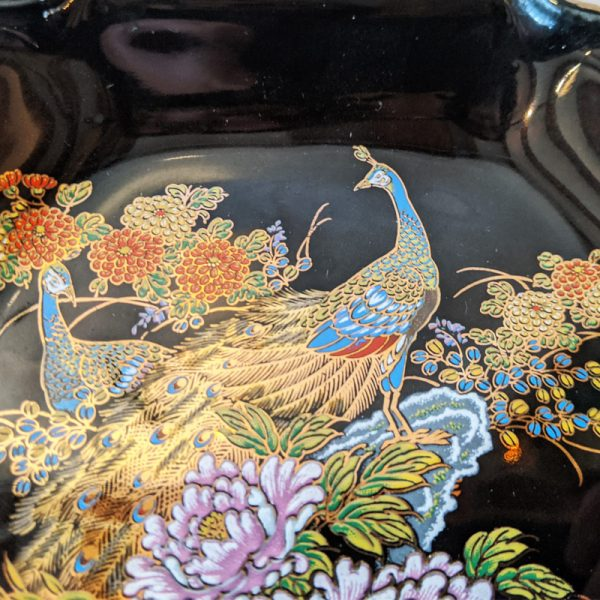 Peacock Decorative Plate