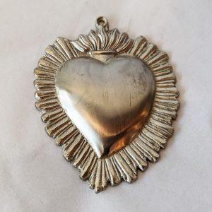 Silver Heart Milagro