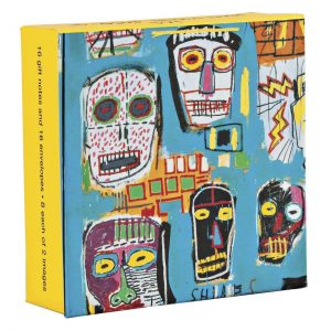 Basquiat Mini FlipTop Notecard Box