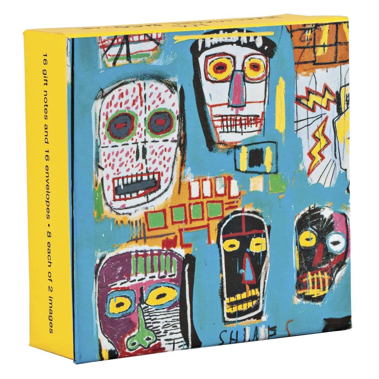 Basquiat Mini FlipTop Notecard Box