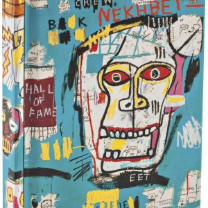 Basquiat Skulls Mini Notebook