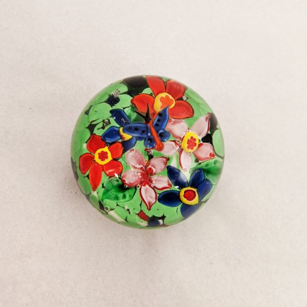 Butterfly Flower Garden Paperweight