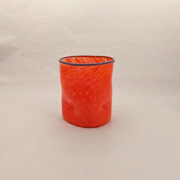 DOF Glass Orange and Purple