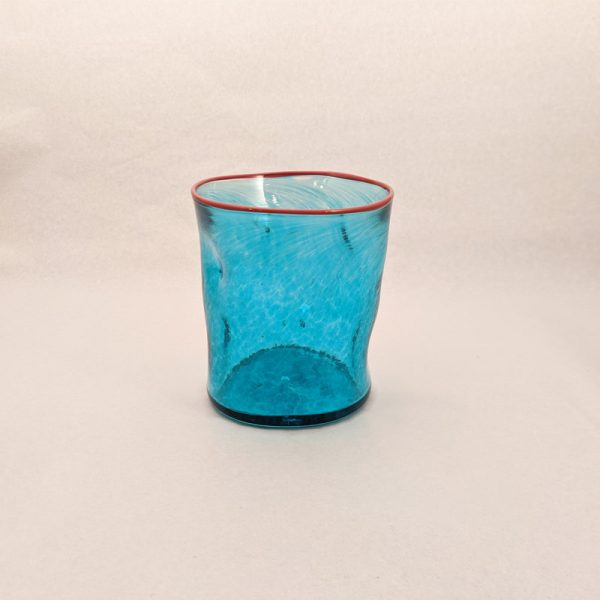 DOF Glass Transp Blue and Red