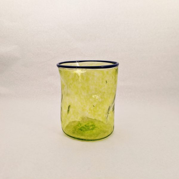 DOF Glass Transp Lime and Cobalt