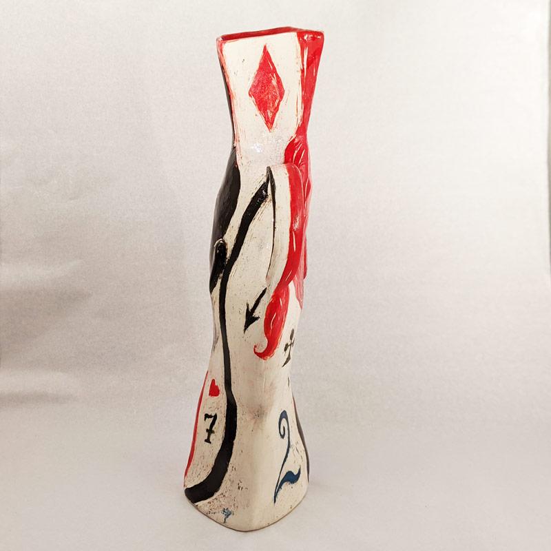 Etruscan Queen Ceramic Vessel