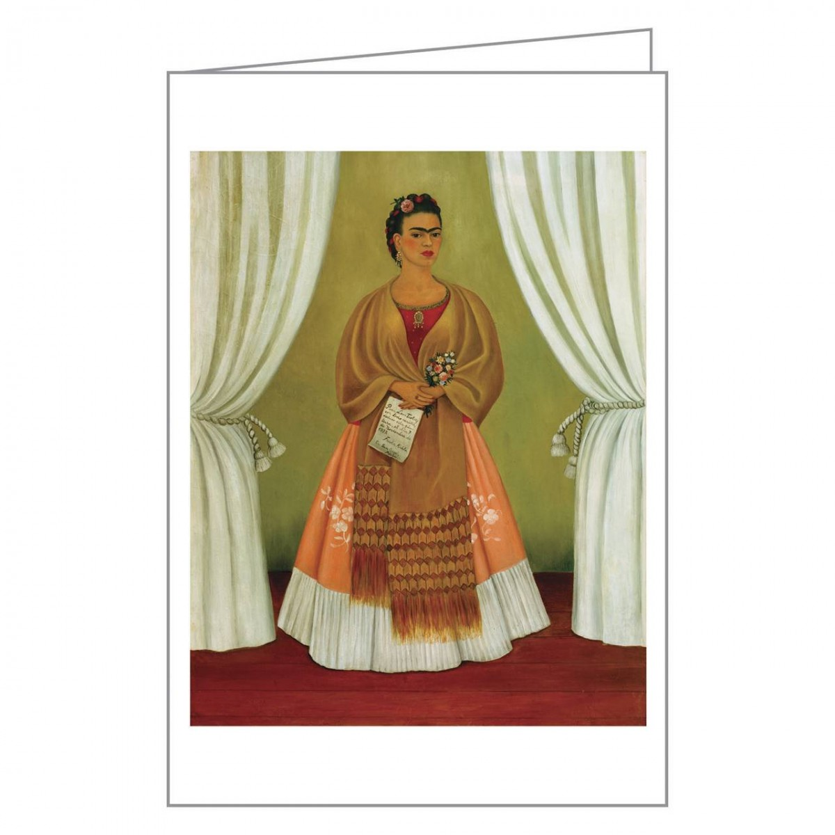 Frida Kahlo Notecard Box