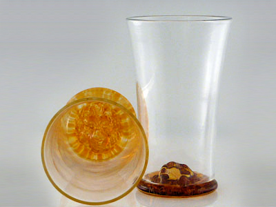 Lion Medallion Scotch Glass