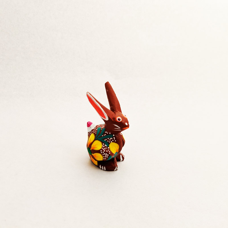 Mini Wooden Rabbit