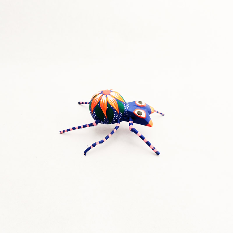 Mini Wooden Spider