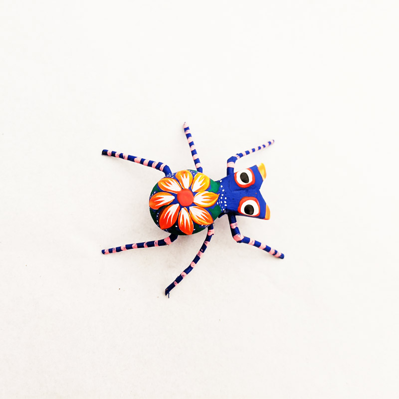 Mini Wooden Spider