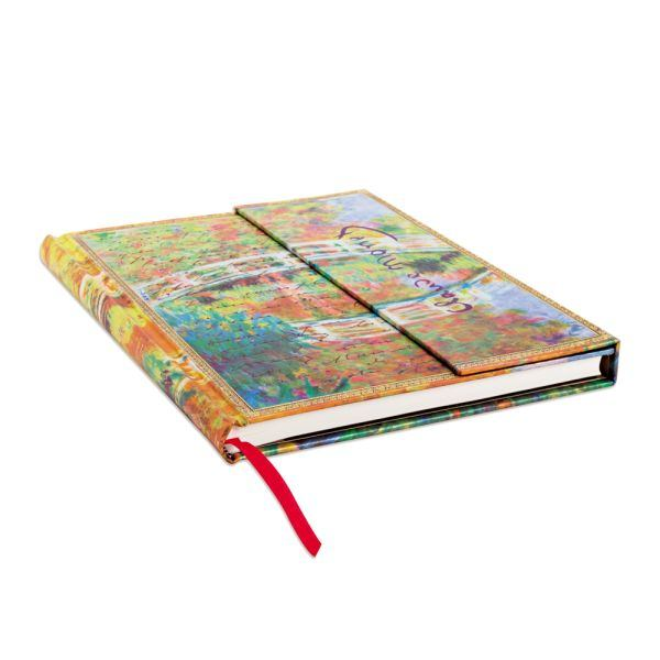 Monet Bridge Hardcover Journal