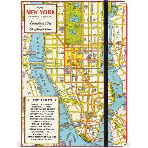 New York City Map Journal