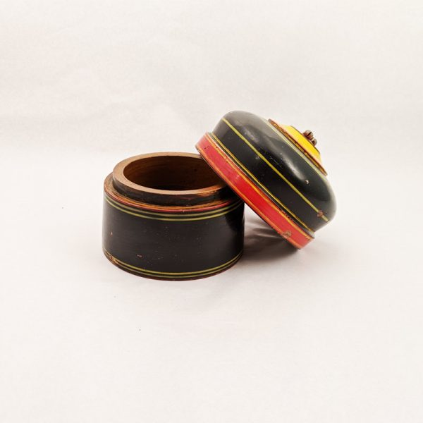 Small Round Indian Box