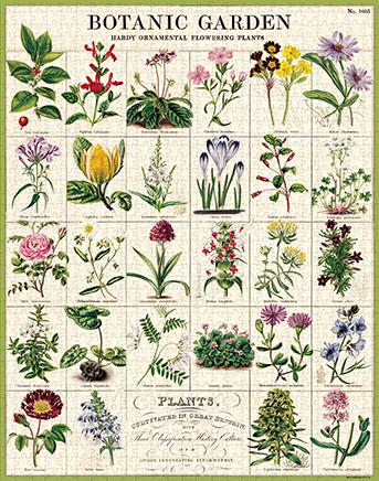 Botanic Garden Vintage Puzzle
