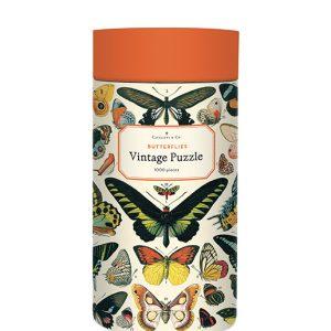 Butterflies Vintage Puzzle