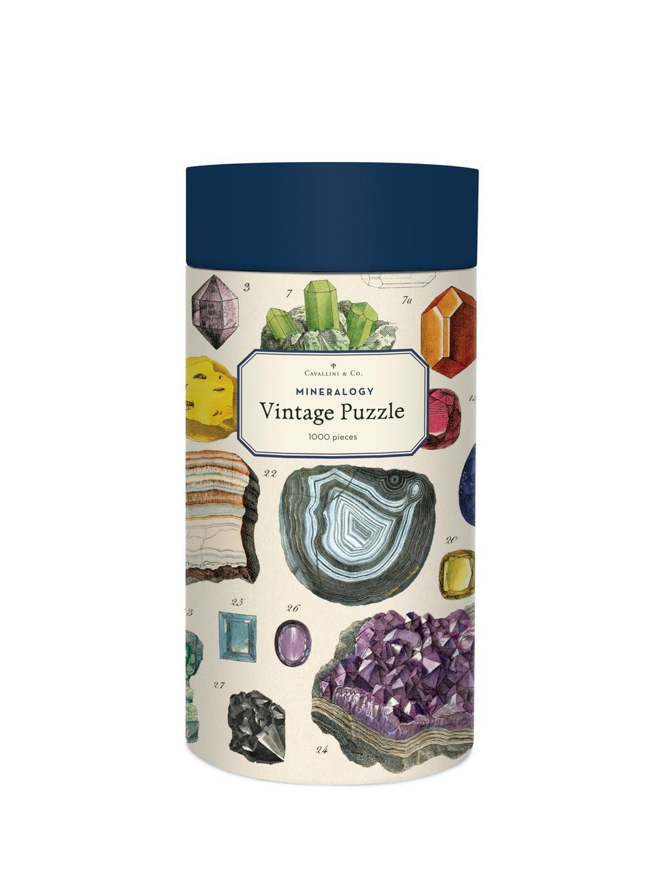 Mineralogy Vintage Puzzle