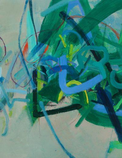 Entanglements - 25.5 x 25.5 - Acrylic on Canvas