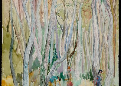 Forest with People, 1941