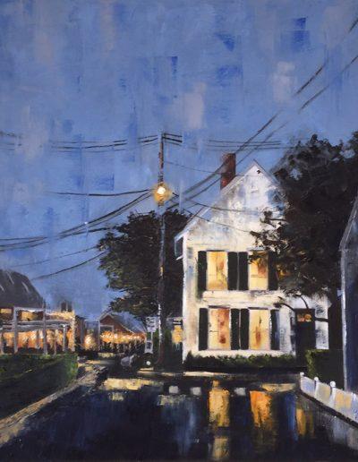 "Summer Rain - 30"" x 30"" - Oil on Canvas"