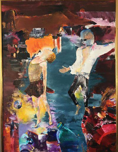 The Dance - 36 x 48 - Oil on Canvas