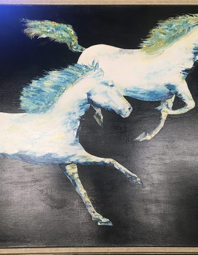 Race - 63 x 51 - Oil on Canvas - SOLD