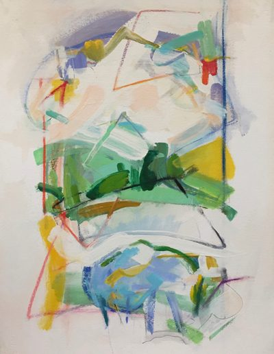 Springs #23 - 36 X 25.75 framed - acrylic on paper