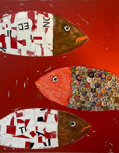 3 Fishes - 24 x 30