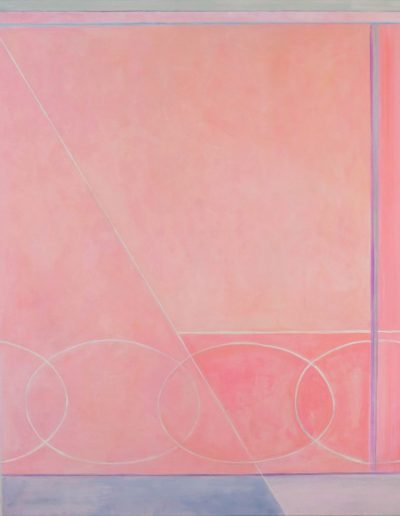 Blush and Rose - 48 x 48 - Oil on Canvas