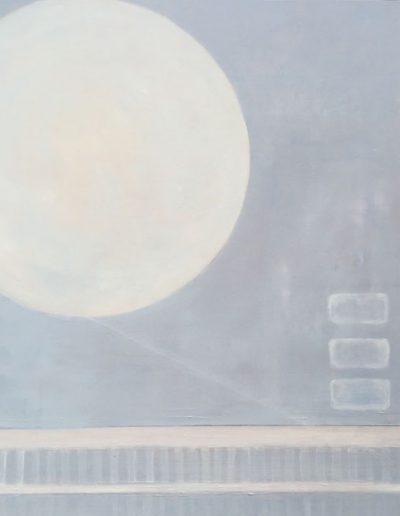 Moon Glow - 24 x 24 - Oil on Wood