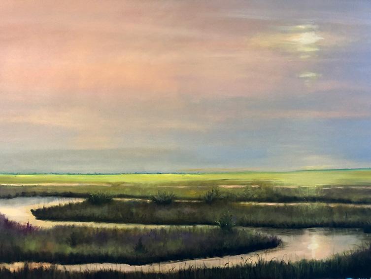 Morning Light - 36 x 48 - Oil on Canvas