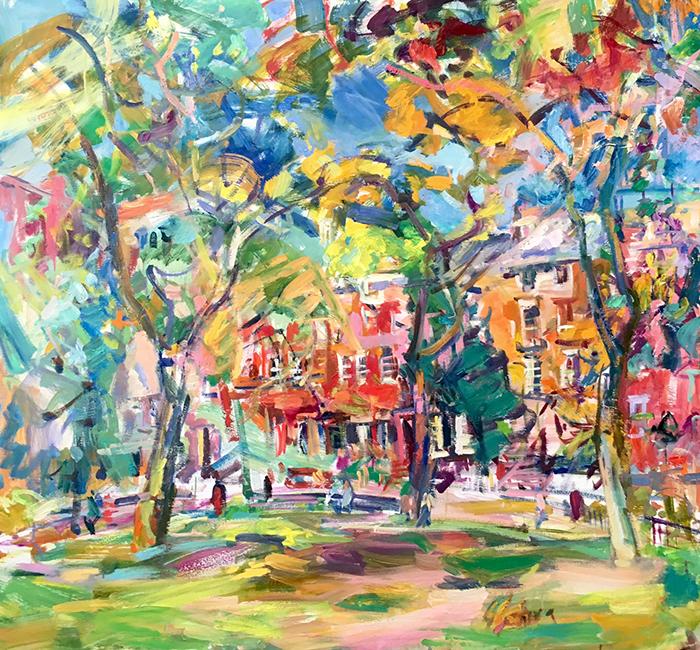Washington Square Park - 48 x 48