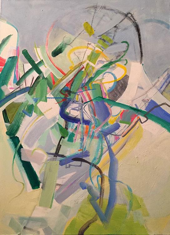 Chaos - 48 x 36 - Acrylic on Canvas