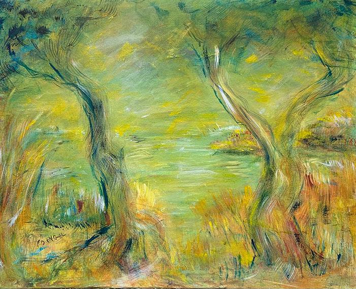 Morning - 24 x 30 - acrylic on canvas